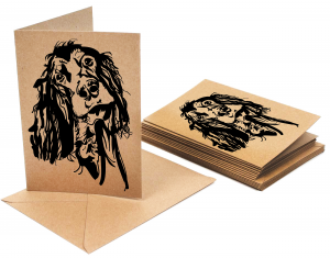 Gordon Setter Dog Card